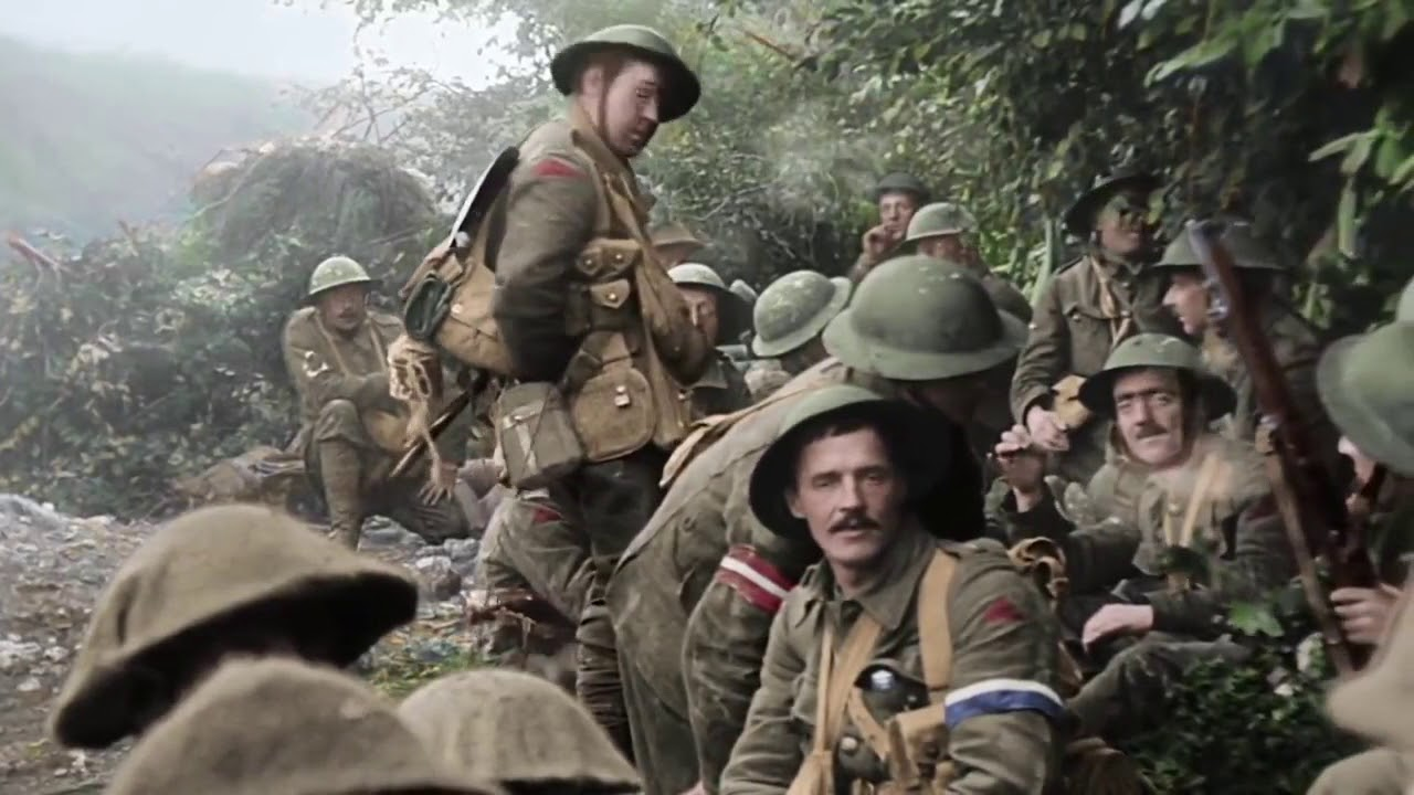 Download THEY SHALL NOT GROW OLD by Peter Jackson   Trailer   GeoMovies