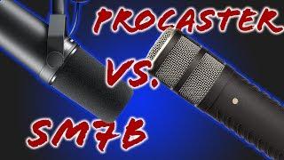 Rode Procaster - Shure SM7B Vergleich | Mic vs Mic | Techboss | Deutsch 2019