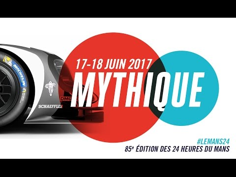 24 heures du mans 2017 poster unveiled youtube. Black Bedroom Furniture Sets. Home Design Ideas