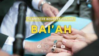 Islamische Begriffe Erklärt   Bai'ah