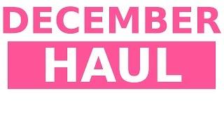 Fashion Haul - December 2014 Thumbnail