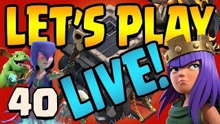 MAXING XBOWS!!!  Let's Play TH9 ep40 Live Stream | Clash of Clans