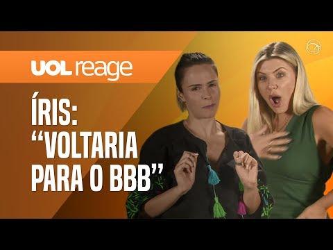 ANA P RENAULT + ÍRIS STEFANELLI REAGEM AO BBB19  UOL REAGE 10