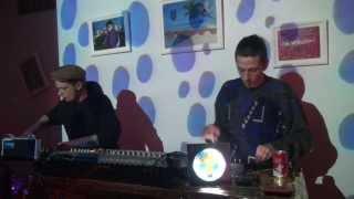 Ωtek vs TV MASKAVA [mono erectus} live @ 309. kabinets ,Valka