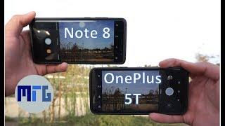 OnePlus 5T vs Note 8: In-Depth Camera Test Comparison