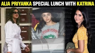 Katrina Kaif Invites Ex Ranbir's GF Alia Bhatt And Priyanka Chopra For Lunch At Her House