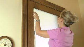 Ways to Decorate Glass Front Doors : Home Design Ideas
