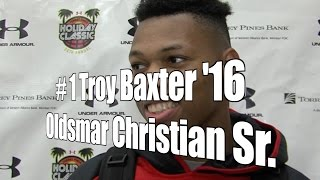 Troy Baxter '16, Oldsmar Christian Senior at 2015 UA Holiday Classic