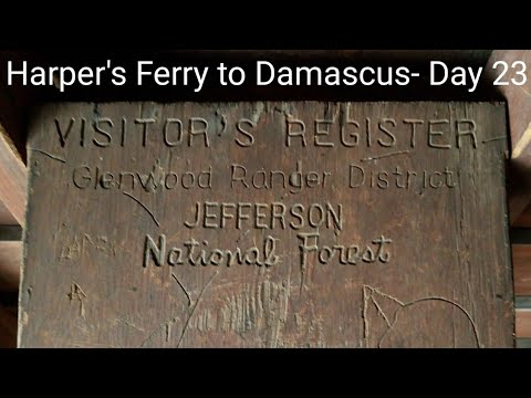 Harper's Ferry to Damascus- Day 23 Appalachian Trail 2018