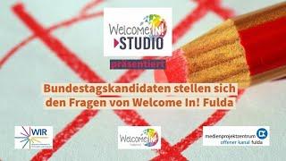 Bundestagskandidaten stellen sich den Fragen von Welcome In: Folge 4 Nuha Sharifi Ali, Die Linken