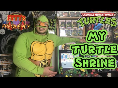 TEENAGE MUTANT NINJA TURTLES COLLECTION | TMNT SHRINE | Funko, Toys, Arcade1up, and more! from Fett's Frequency