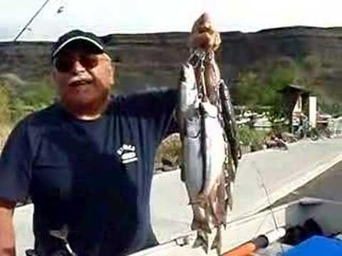 Trout Fishing At Sun Lakes