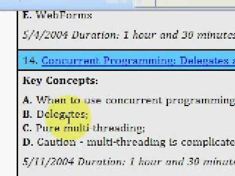 Modern VB -14- Concurrent Programming