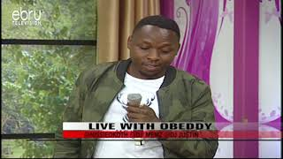 Obeddy Talks About His New Song 'Penzi'