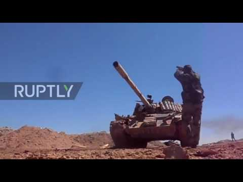 Syria War 2017 - Clashes Golan Heights after IDF reportedly attacks govt forces