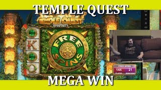 181 FREE SPINS!! TEMPLE QUEST: SPINFINITY (twitch.tv/shaltar)