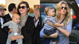 Miranda Kerr and Gisele Bundchen Talk Babies
