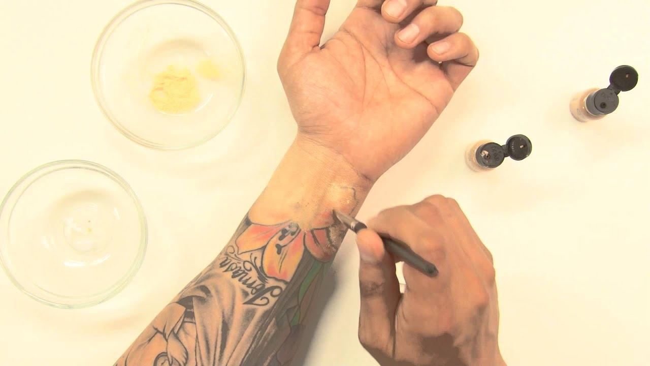 Dinair Men S Tattoo Coverage