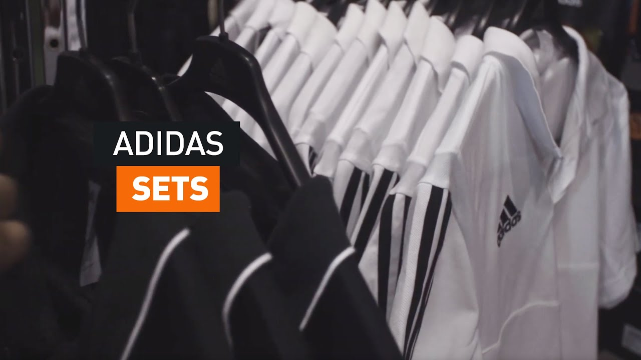 Adidas Sets in Aktion