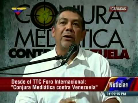 Foro Conjura Mediática: Intervención de William Castillo (fragmento)