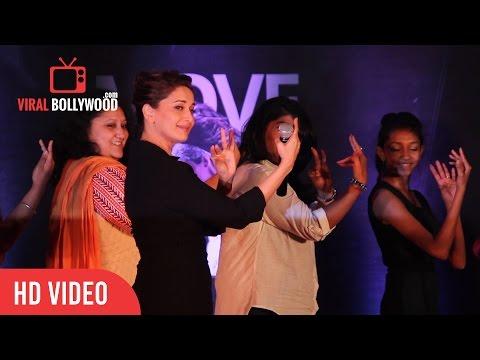 Dance with Madhuri Dixit   Sriram Nene   Saroj Khan   Jackie Shroff