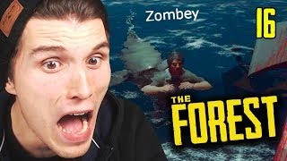 HILFE, ein Hai hat Zombey GEFRESSEN ☆ The Forest
