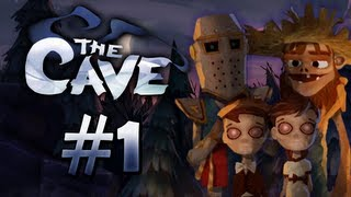 Let's Play: The Cave [PC] #1 - The Knight, Twins, and Hillbilly (HD)