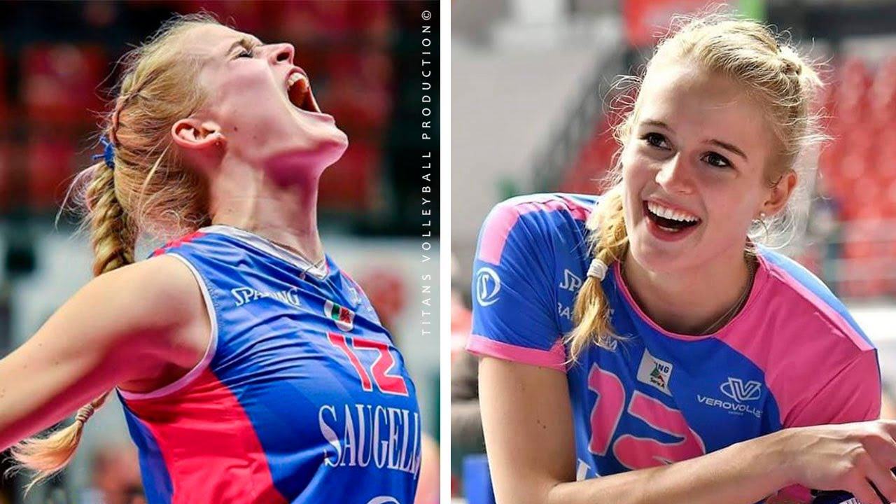 Hanna Orthmann - Beautiful and Talented Volleyball Player | Best Volleyball Actions 2019