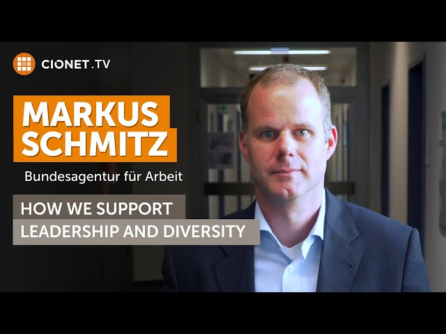 Markus Schmitz – Bundesagentur für Arbeit – How We Support Employees' Career development