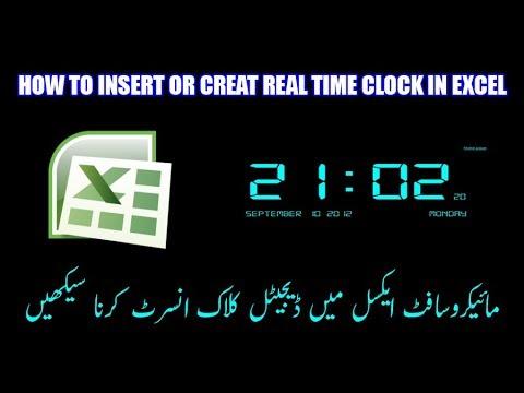 excel timeclock
