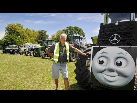 The Great NZ Tractor Trek in Gisborne