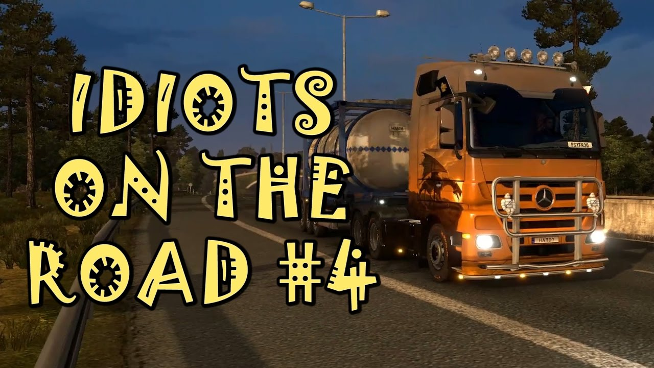 euro truck simulator 2 multiplayer idiots on the road 4. Black Bedroom Furniture Sets. Home Design Ideas
