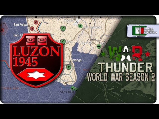 WORLD WAR: Attack from the Sea | #1 Battaglia di Luzon [War Thunder Gameplay HD ITA]