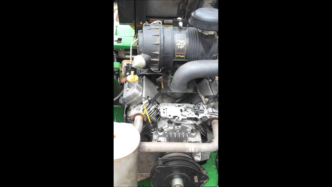 Rebuilt 25 HP Kawasaki - YouTube