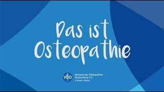 Das ist Osteopathie