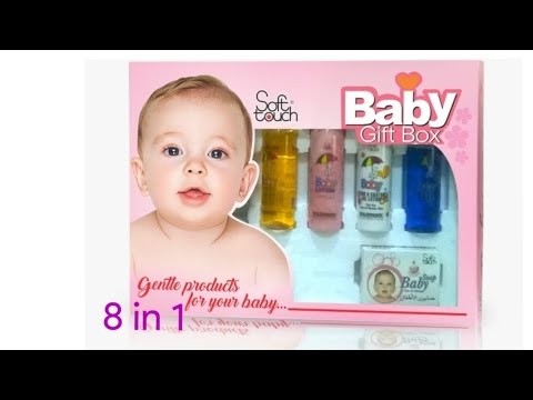 Baby gift set 8 in 1 by golden girl softtouch brand