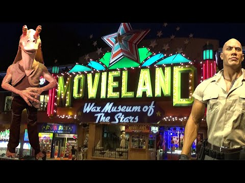 Movieland Wax Museum (Niagara Falls) Tour & Review With The Legend