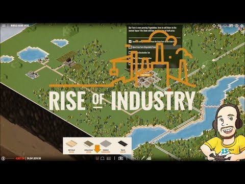 Rise of Industry - Looking at The Tutorial | Gameplay New Building game |