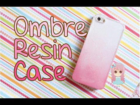 Ombre Resin Case // Funda para Telefono de Resina