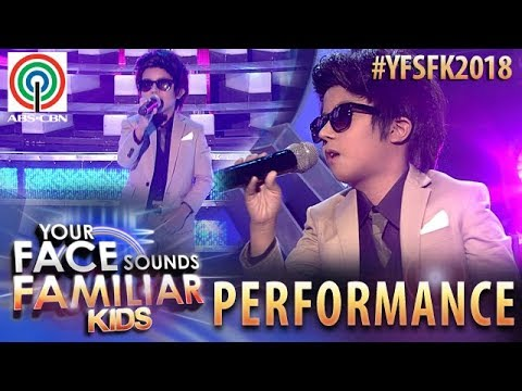 Your Face Sounds Familiar Kids 2018: Onyok Pineda as Daniel Padilla | Nasa Iyo Na Ang Lahat