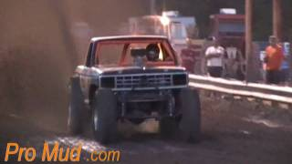 Mud Truck on the Flat Track at Jumping Run Creek Mud Bogs