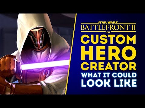 Custom Hero Creator: What It Could Look Like! - Star Wars Battlefront 2 thumbnail