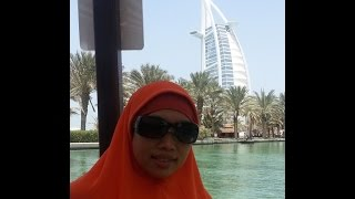 Cruising On Abra at Medinat Jumeirah - Dubai