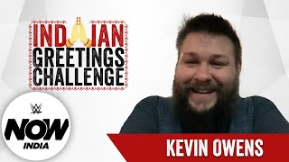 Kevin Owens Greets India in 12 Languages! | The Indian Greetings Challenge: WWE Now India