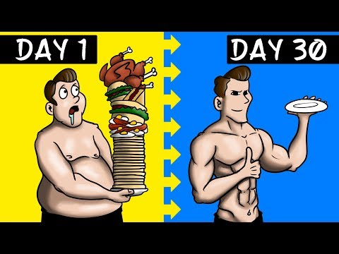 I Ate One Meal A Day For 30 Days (RESULTS)