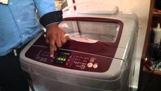 samsung washing machine demo telugu