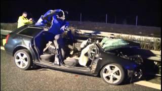 Tödlicher Unfall auf A20 nahe Tessin