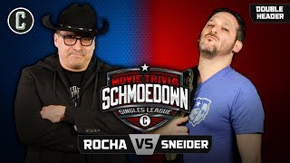John Rocha VS Jeff Sneider & Matt Knost VS Ken Napzok - Movie Trivia Schmoedown