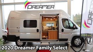 Dreamer Family Select 2020 Camper Van 6 m
