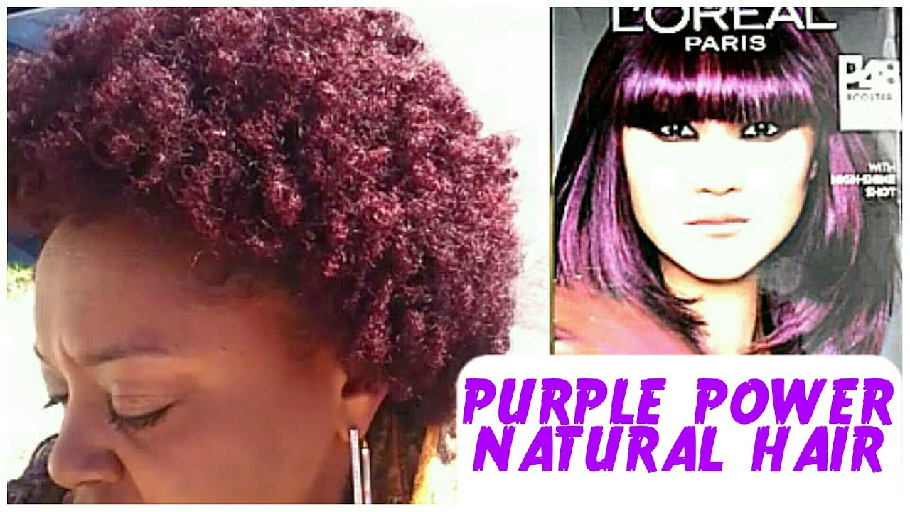 Youtube Dye Natural Hair